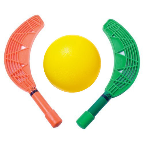 Set Mini-Hockey: 12 palas y 1pelota de espuma