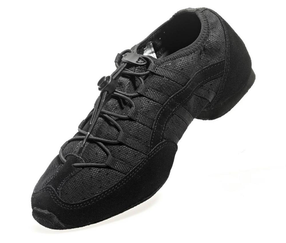 Rumpf Mambo Zapatilla de baile color negro