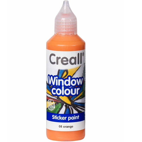 Pintura Window Colour Creall 80ml Naranja