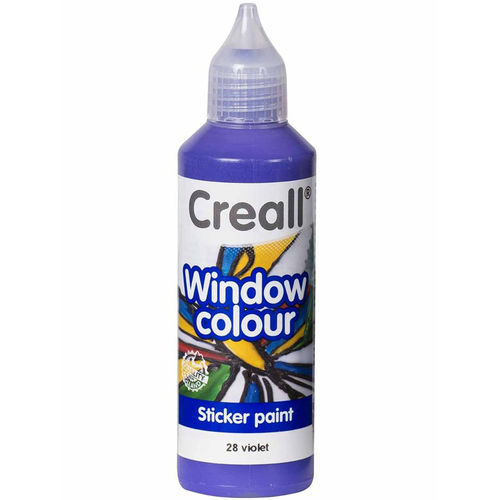 Pintura Window Colour Creall 80ml Violeta