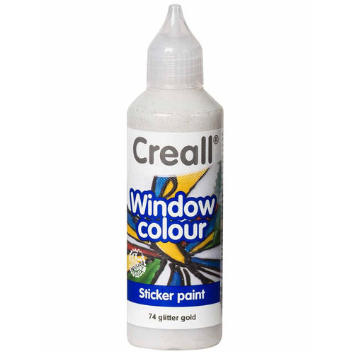 Pintura Window Colour Creall 80ml Dorado