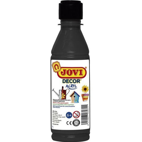 Pintura Decor Acryl Jovi 250ml Negro