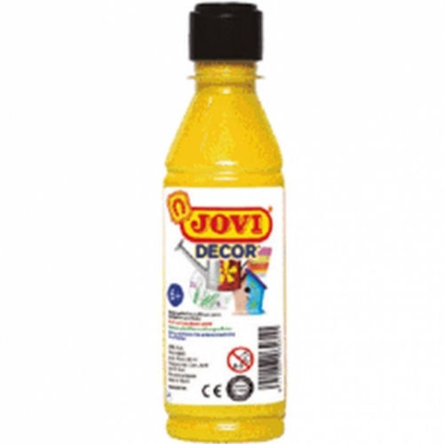 Pintura Decor Acryl Jovi 250ml Amarillo