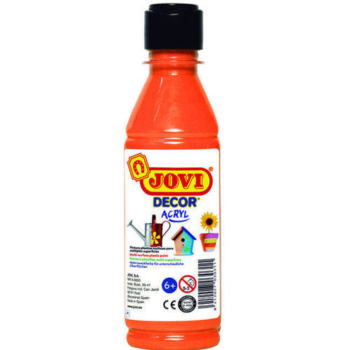 Pintura Decor Acryl Jovi 250ml Naranja