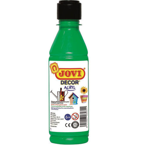 Pintura Decor Acryl Jovi 250ml Verde