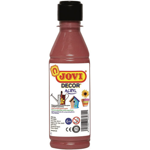 Pintura Decor Acryl Jovi 250ml Marrón