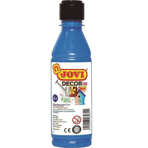 Pintura Decor Acryl Jovi 250ml Azul