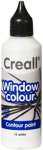 Pintura Window Colour Creall 80ml Blanco
