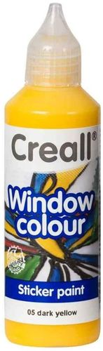 Pintura Window Colour Creall 80ml Amarillo