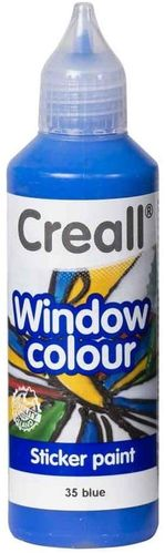 Pintura Window Colour Creall 80ml Azul