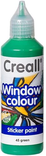 Pintura Window Colour Creall 80ml Verde
